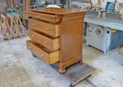 Ebeniste dans l'Eure 27 réalisation d'un meuble copie d'ancien