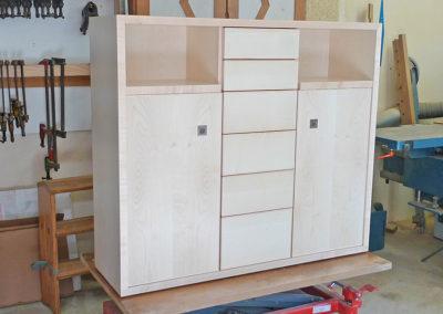 Ebeniste dans l'Eure 27 réalisation d'un meuble d entree